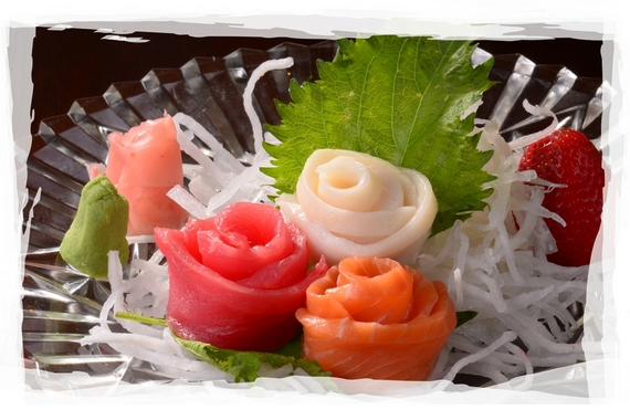 Assorted Sashimi pieces