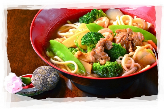 Chinese House Noodle Soup