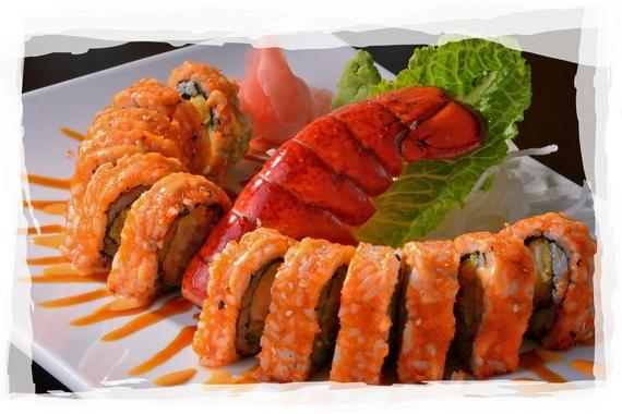Lobster Explosion Roll