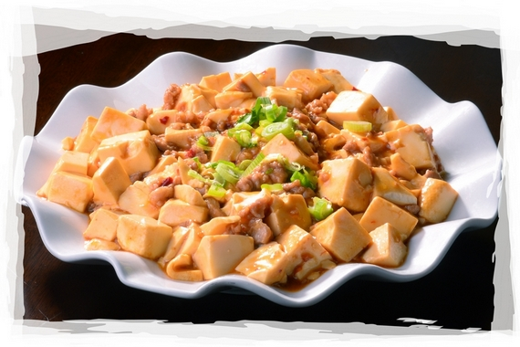 Ma Po Tofu with minced pork