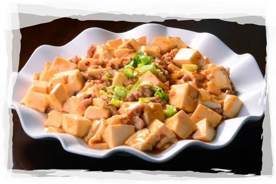 Ma Po Tofu with minced pork
