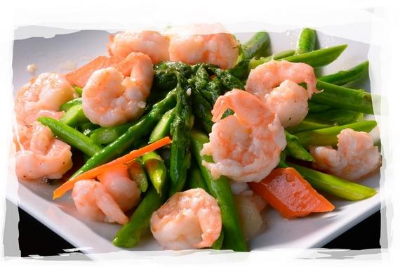 Shrimp with Asparagus